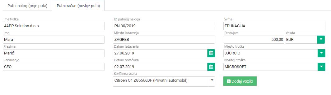gooma_forma putnog računa